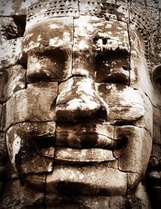 Steinfigur als Symbol für unsere Teilaspekte