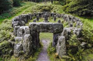 Irischer heiliger keltischer Ort