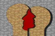 Aufstellung für Paare, 2 Gesichter